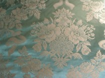 Cotton and Silk Damask Lee Jofa Italy Tarragon SOLD