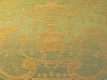 Lee Jofa French Cotton Chinoiserie Green SOLD