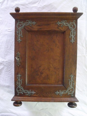 Circa 1900 Arts and Crafts Art Nouveau Oak Medicine Cabinet SOLD ...