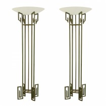 Pair French Art Deco Torcheres