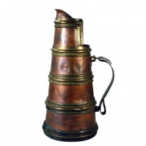 Arts and Crafts Brass Copper Pitcher Circa 1900 SOLD