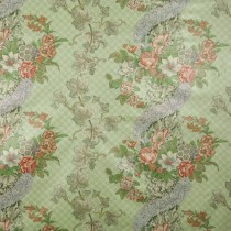 100% Cotton Chintz English Auricula Print Fabric G. P. & J. Baker