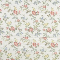 Gwendolyn Brocade Ivory Floral Embroidery Lee Jofa