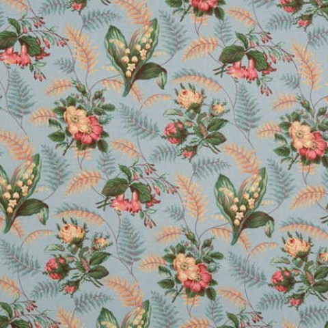 SOLD OUT Cotton Chintz English Hazelby Print Lee Jofa