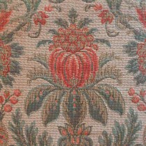 Gros Point Floral Tapestry Lee Jofa Teal Peach