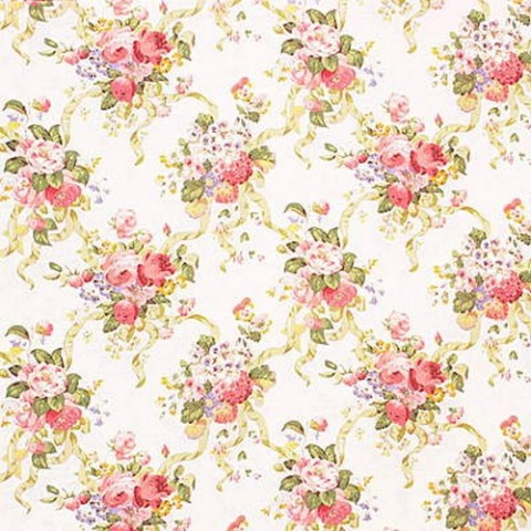 Lee Jofa Linen Floral Beauclerk Print SOLD