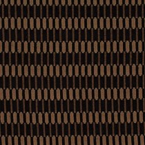 Kravet Heavy Duty Art Deco Modern Chenille Black Brown Beige Metallic