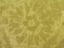 Mulberry Simla Cotton Floral Print Brass