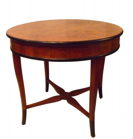 Rare Salon Table Bruno Paul Jugensdtil Art Nouveau 1912