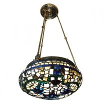 SOLD Art Nouveau Bronze Doré Ceiling Light Pendant