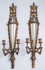 Coming Soon 1920 Pair Louis XVI Style Sconces