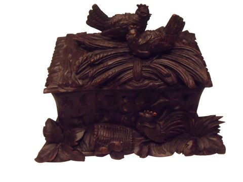 SOLD Black Forest Box 19th Century