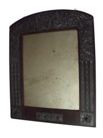 SOLD Alfred Daguet Manner Arts and Crafts Art Nouveau Mirror Frame