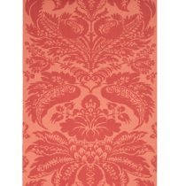 Le Grand Palais Wallpaper Red Brunschwig & Fils