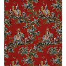 SOLD OUT Beauport Promenade Turkey Red Wallpaper Brunschwig & Fils Limited Quantities