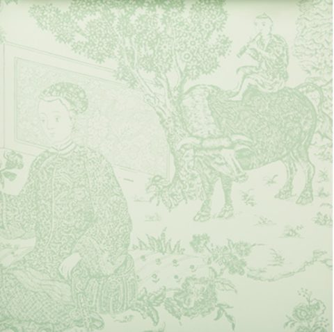 Cathay Toile Wallpaper Brunschwig & Fils 4 colors Limited Quantities