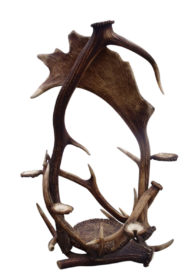 19th Century Black Forest Antlers Pipe Stand Rack Germany