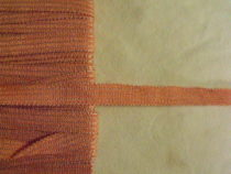 23.62 Yards Vintage Gimp Trim Lyon Salmon