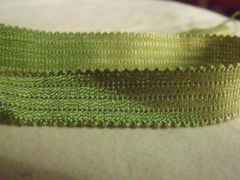 13 Yards Vintage French Gimp Trim Rayon Mint Green
