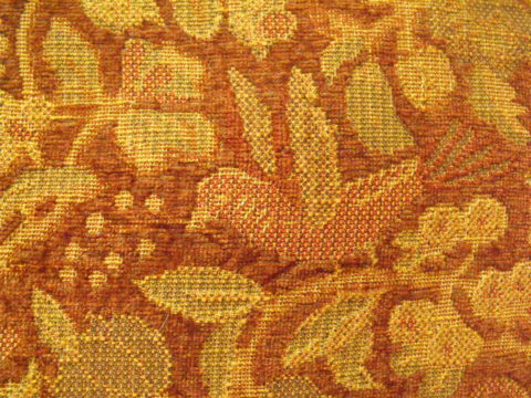 Bird of Luxury Color Tiger Eye Rust Heavy Duty Chenille Kravet