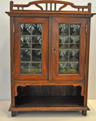 Coming Soon Jugendstil Hanging 2-Door Cabinet